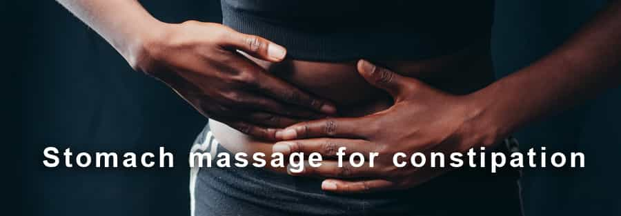stomach massage for constipation